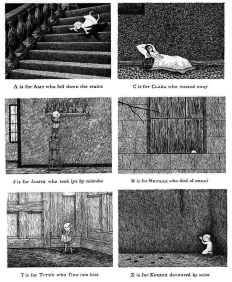 "Excerpts from ""Gashlycrumb Tinies"""